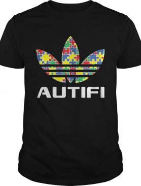 Autism awareness adidas autifi t-shirt