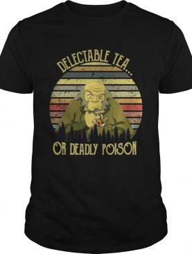Avatar Delectable tea or deadly poison sunset t-shirt