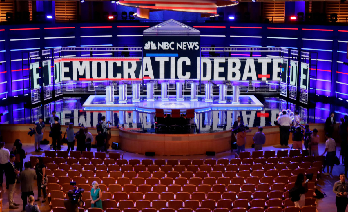 Biden and Sanders take center stage for night two of first Democratic presidential debate