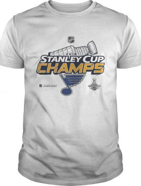 Blue Stanley Cup Champs 2019 t-shirt