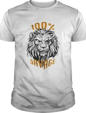 Disney The Lion King Scar 100% Savage t-shirt