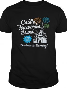 Fantasyland Castle fireworks brand business is booming t-shirt