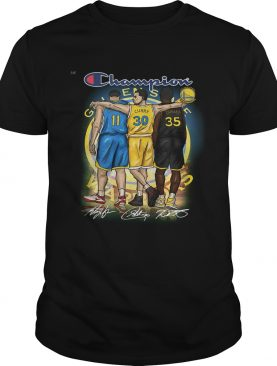 Golden State Warriors Champion Thomson Curry Durant t-shirt