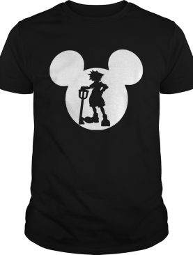 Kingdom Hearts Sora Keyblade Mickey Hat Tshirt
