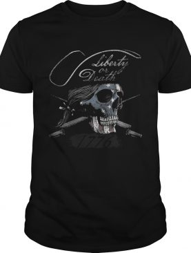 Liberty or Death 1776 t-shirt