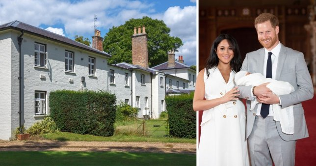 Meghan and Harry spent £2.4m of taxpayers' money on new home