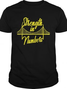 Official Golden State Warrior Strength In Numbers T-Shirt