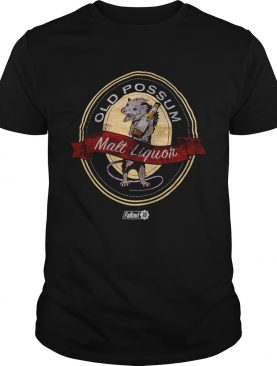 Old possum Malt Liquor Fallout 76 t-shirt