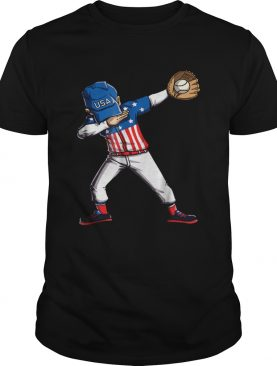 Original Baseball Dabbing Usa Merica 4th Of July Dab Dance t-shirt