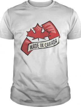 Premium Made In Canada Happy Canada Day T-Shirt