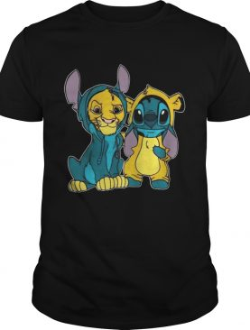 Simba and Stitch best friend t-shirt