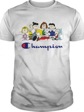 Snoopy and Friends Champion Peanuts t-shirt