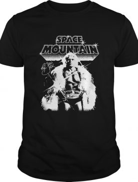 Space mountain Ric Flair signature t-shirt