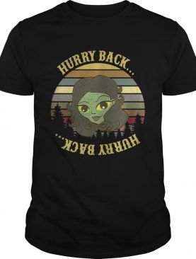 The Haunted Mansion hurry back sunset t-shirt