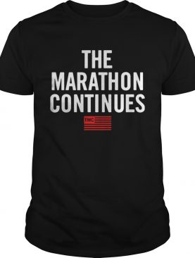 The Marathon Continues TMC t-shirt