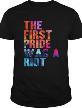 The first pride was a riot t-shirt