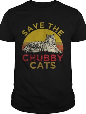 Tiger Save the Chubby cats t-shirt