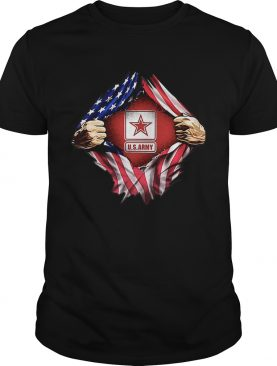 US Army inside me Independence day 4th of July t-shirt