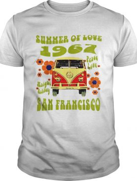 1967 Summer Of Love San Francisco Haight Ashbury Hippie t-shirt