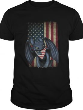4th Of July American Flag Toothless T-Shirt