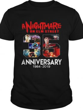 A nightmare on elm street 35th anniversary 1984 2019 t-shirt