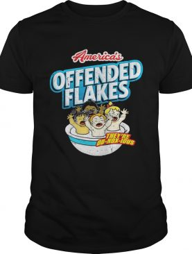America's Offended Flakes t-shirt