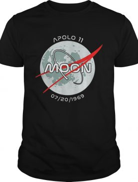 Apollo 11 Mission Moon Landing 50 Years Anniversary t-shirt