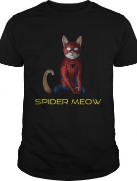 Avenger Spider Man Spidermeow shirt