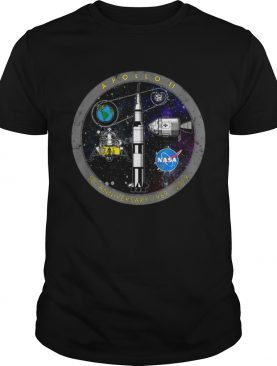 Awesome Apollo 11 50 Anniversary 1969 2019 Circle Logo t-shirt