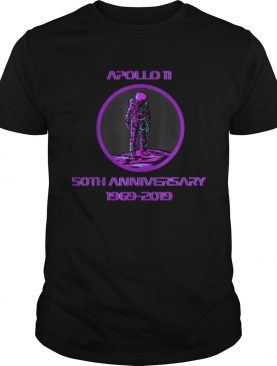 Awesome Apollo 11 Astronaut Moon Landing 50th Anniversary shirt