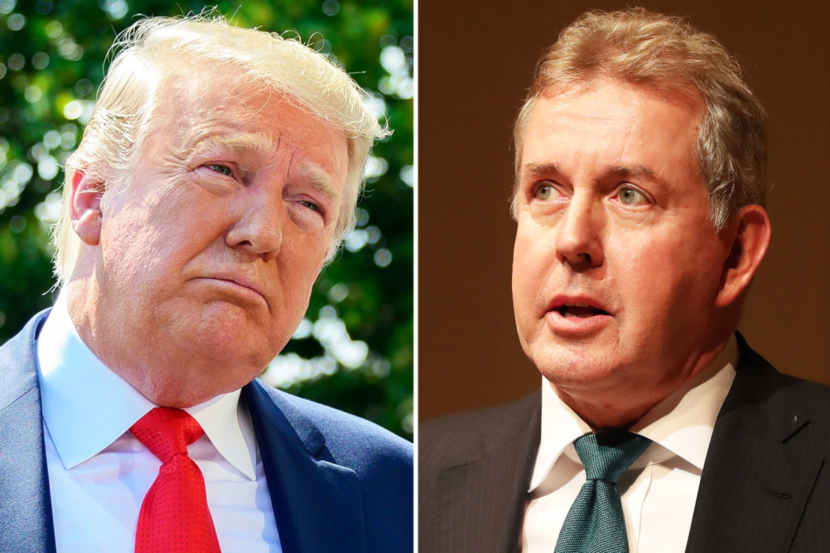 Cables from UK's ambassador to the US blast Trump as 'inept' 'incompetent'