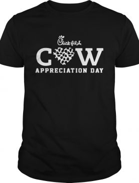 Chick Fil a Cow Appreciation Day t-shirt