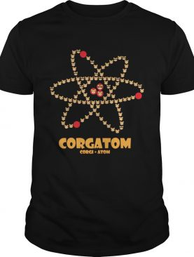 Corgatom Corgi and Atom t-shirt