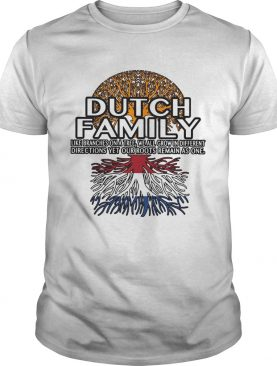 Dutch Family like branches on a tree shirt