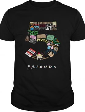 Five Friends my sandwich pivot t-shirt