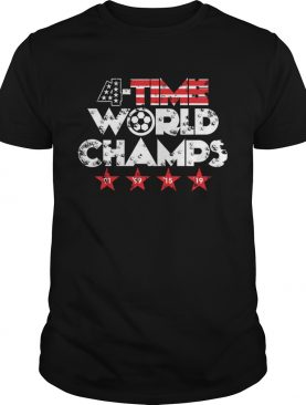 Four-time World champs '91 '99 '15 '19 T-shirt
