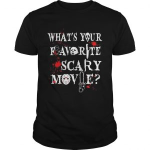 Halloween Ghostface what's your favorite scary movie Unisex shirt