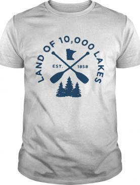 Land of 10000 lakes shirt