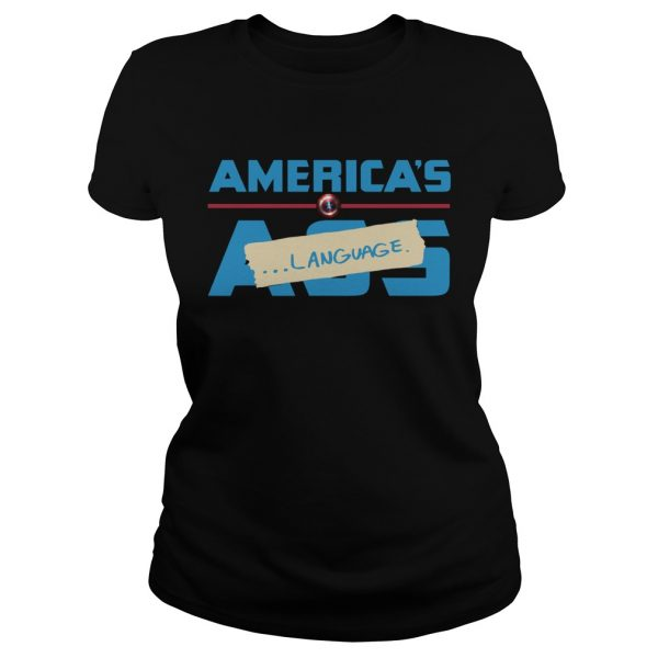 Marvel America's Ass Language Ladies shirt