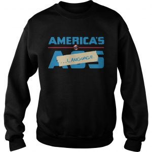 Marvel America's Ass Language Sweat shirt
