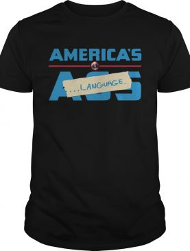 Marvel America's Ass Language t-shirt
