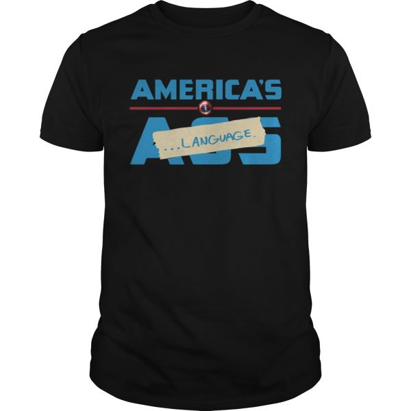 Marvel America's Ass Language Unisex shirt