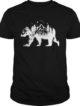 Mountains Bear t-shirt