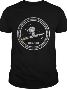 Official Snoopy moon landing apollo 11 50th anniversary t-shirt