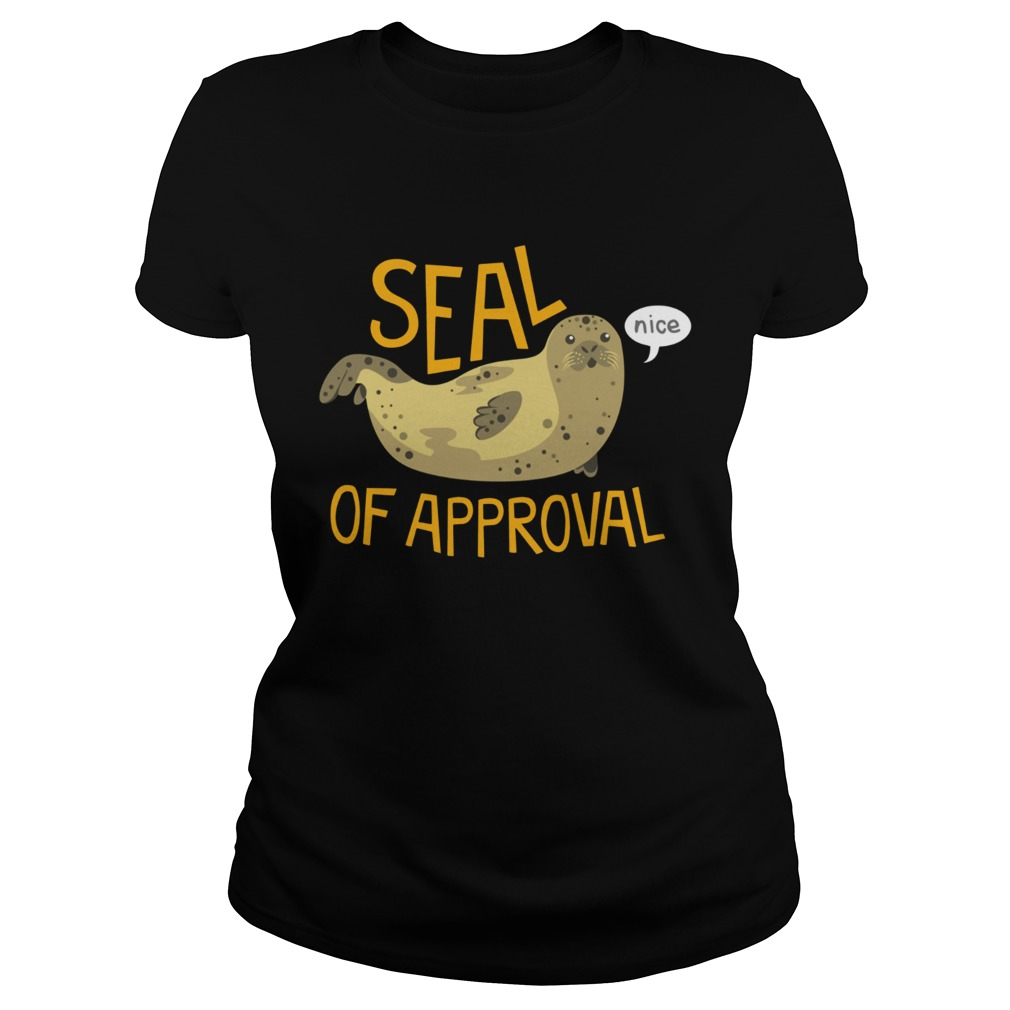 Otter seal of approval nice Classic Ladies
