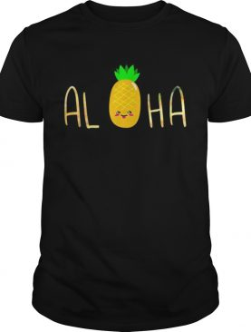 Pineapple Fruit Aloha Beaches Hawaii shirt
