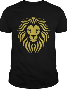 Premium Metallic Gold King Lion Jungle shirt