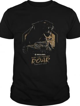 Pretty World of Tanks Make the Panther Roar Tankfest Black Panther t-shirt