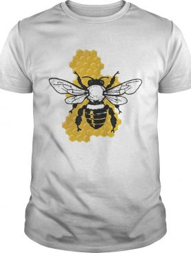 Save The Bees Beekeeper Honeycomb Environmentalists t-shirt