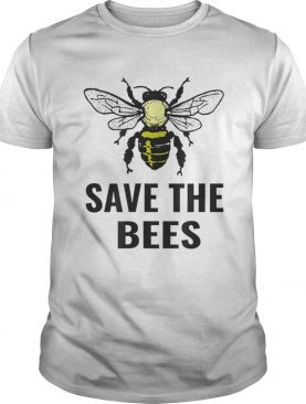 Save The Bees Vintage Sunset Bees t-shirt